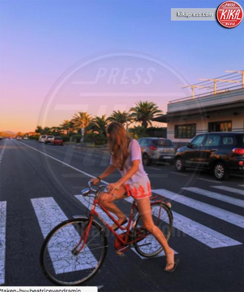 Beatrice Vendramin - Milano - 21-08-2016 - Beatrice Vendramin in vacanza, ma dov'è finito Saul Nanni?