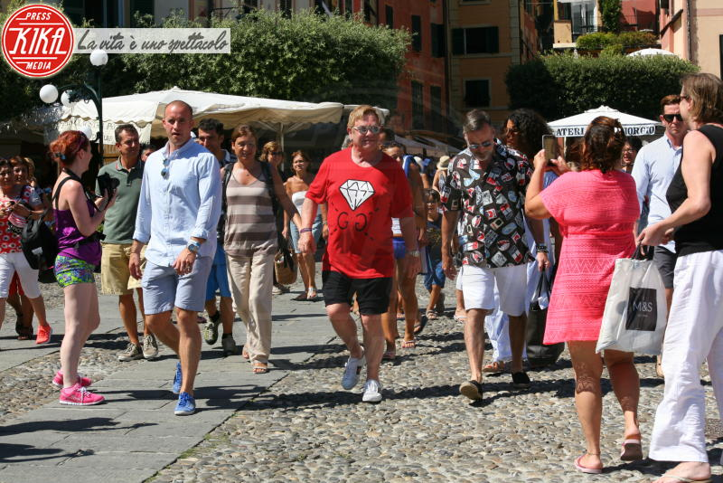 David Furnish, Elton John - Portofino - 27-08-2016 - Estate 2019: i vip turisti abituali in Italia