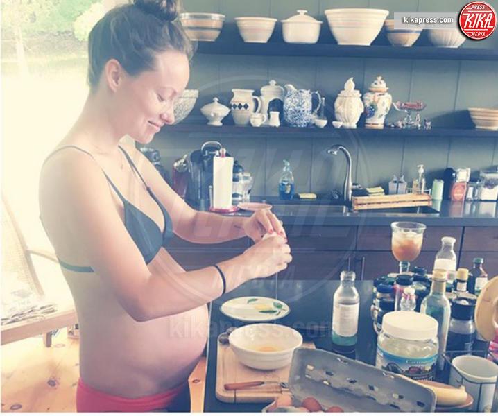 Olivia Wilde - Milano - 02-09-2016 - Sono incinta! Quando l'annuncio è social