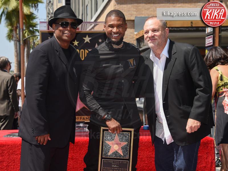 Usher, Harvey Weinstein - Hollywood - 07-09-2016 - Harvey Weinstein espulso dagli Oscar