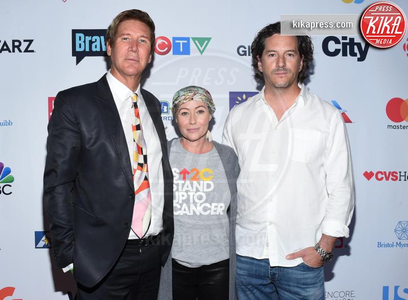 Dr. Lawrence Piro, Kurt Iswarienko, Shannen Doherty - Los Angeles - 09-09-2016 - Shannen Doherty riunisce le star contro il cancro