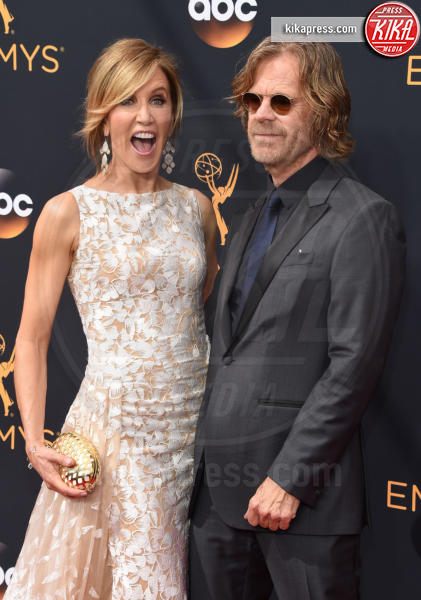 Felicity Huffman, William H. Macy - Los Angeles - 18-09-2016 - Emmy Awards 2016: sul red carpet sfila la bellezza