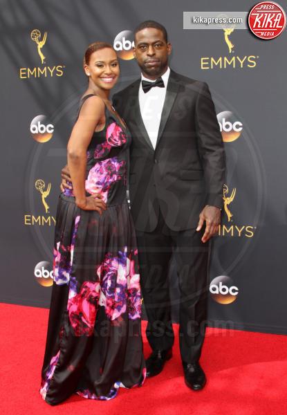 Sterling K. Brown, Ryan Michelle Bathe - Los Angeles - 18-09-2016 - Emmy Awards 2016: sul red carpet sfila la bellezza