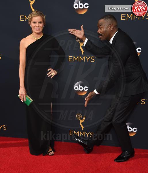 Colman Domingo, Kim Dickens - Los Angeles - 18-09-2016 - Emmy Awards 2016: sul red carpet sfila la bellezza