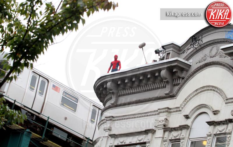 Tom Holland - New York - 30-09-2016 - Tom Holland ha un grande maestro: Spider-Man!