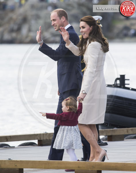 Principessa Charlotte Elizabeth Diana, Principe William, Kate Middleton - Victoria - 01-10-2016 - Goodbye Canada! I duchi di Cambridge tornano a casa