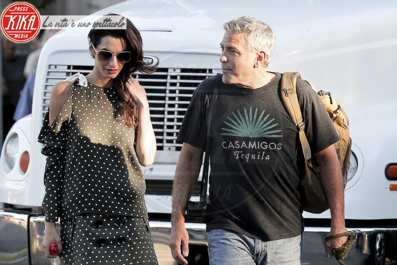 Amal Alamuddin, George Clooney - Los Angeles - 03-10-2016 - George Clooney: l'incredibile retroscena dietro la paternità