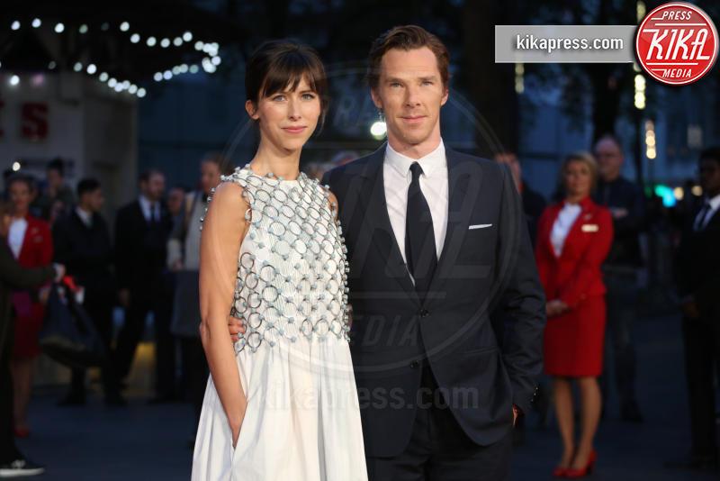 Sophie Hunter, Benedict Cumberbatch - Londra - 11-10-2015 - Benedict Cumberbacth due volte papà, è nato Hal Auden