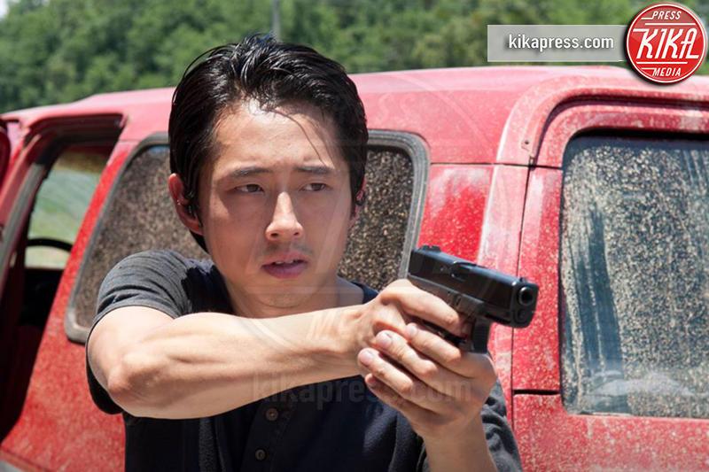 Steven Yeun - Los Angeles - 23-10-2016 - SPOILER - The Walking Dead 7: chi sono le due vittime di Lucille