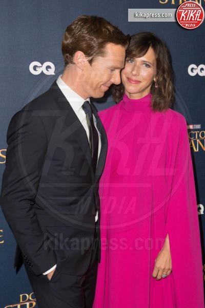 Sophie Hunter, Benedict Cumberbatch - Londra - 24-10-2016 - Benedict Cumberbacth due volte papà, è nato Hal Auden