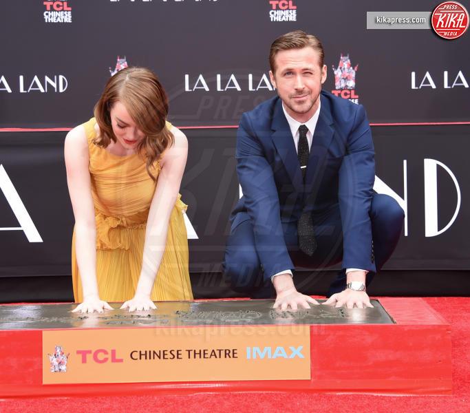 Emma Stone, Ryan Gosling - Hollywood - 07-12-2016 - Ryan Gosling: Migliore attore in una commedia o in un musical