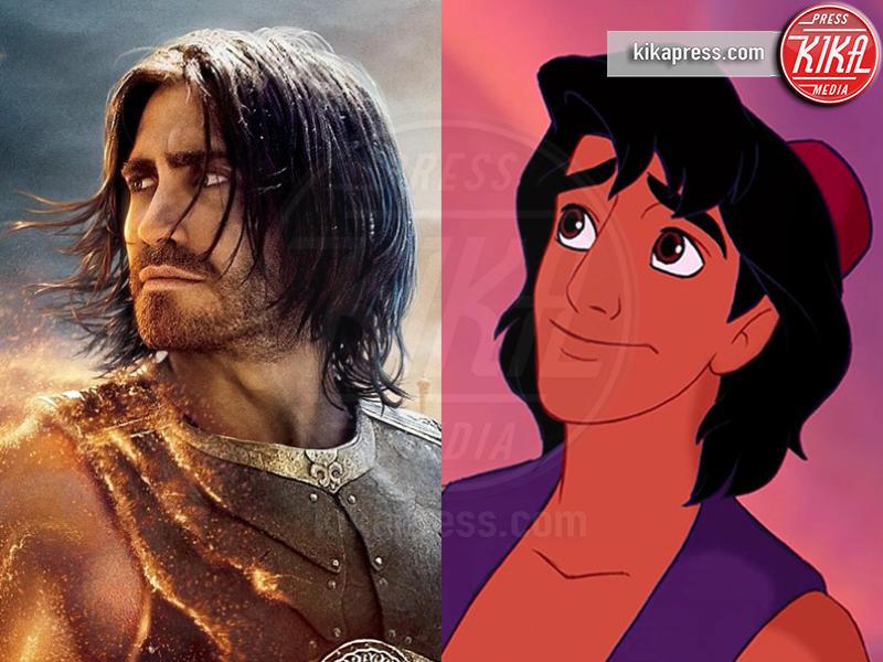 Aladdin, Jake Gyllenhaal - Hollywood - 13-01-2017 - I Principi Azzurri dei cartoni Disney? Esistono! Eccoli qui...