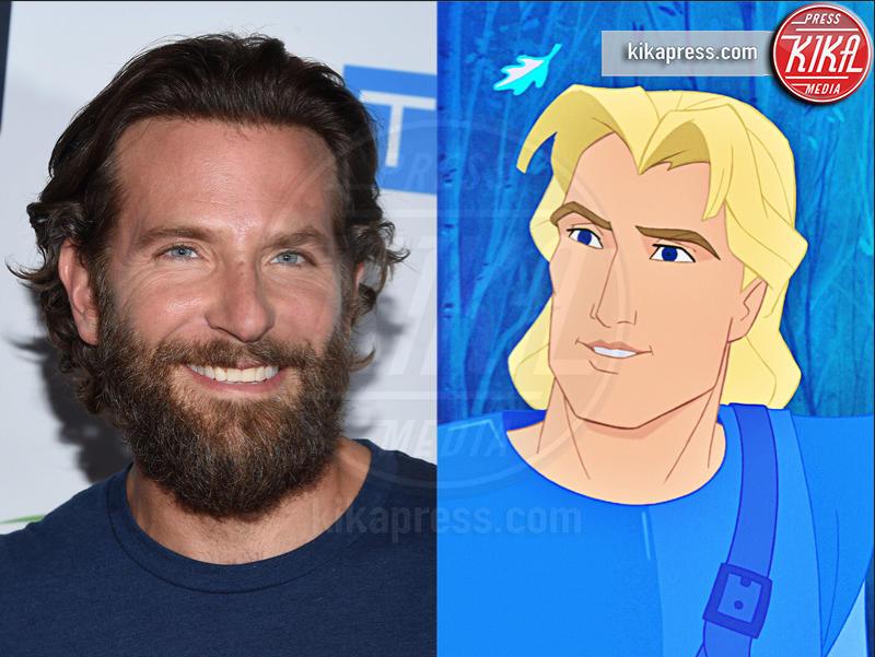 Pocahontas, Bradley Cooper - Hollywood - 13-01-2017 - I Principi Azzurri dei cartoni Disney? Esistono! Eccoli qui...