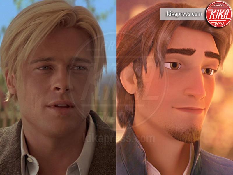 Rapunzel, Brad Pitt - Hollywood - 13-01-2017 - I Principi Azzurri dei cartoni Disney? Esistono! Eccoli qui...