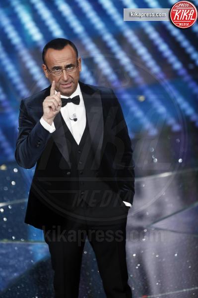Carlo Conti - Sanremo - 09-02-2017 -  Sanremo 2017: show di Mika nella serata delle Cover