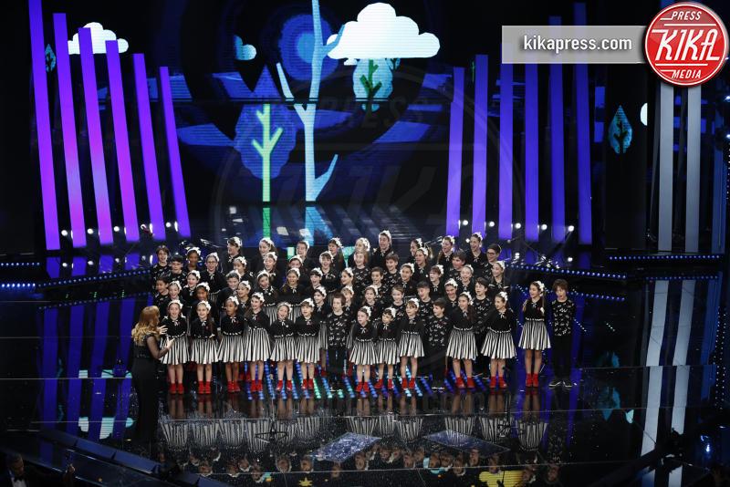 Coro dell'Antoniano - Sanremo - 09-02-2017 -  Sanremo 2017: show di Mika nella serata delle Cover