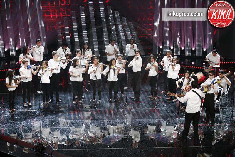 Orquesta de Reciclados de Cateura - Sanremo - 09-02-2017 -  Sanremo 2017: show di Mika nella serata delle Cover