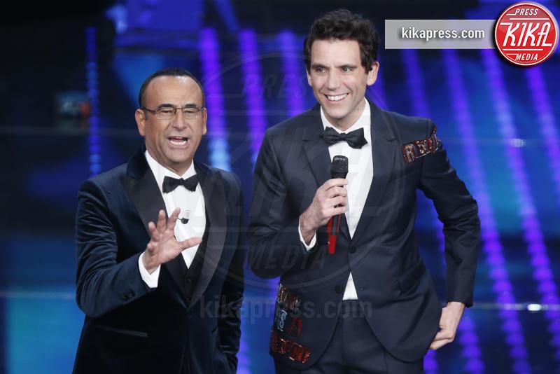 Mika, Carlo Conti - Sanremo - 09-02-2017 -  Sanremo 2017: show di Mika nella serata delle Cover