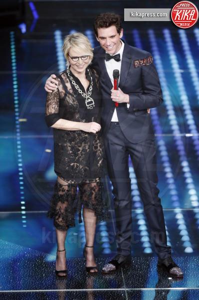 Maria De Filippi, Mika - Sanremo - 09-02-2017 -  Sanremo 2017: show di Mika nella serata delle Cover