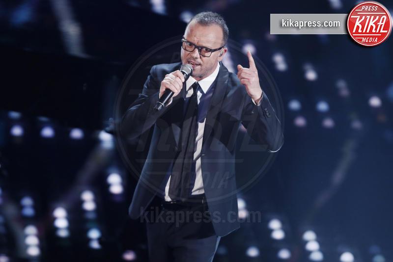 Gigi D'Alessio - Sanremo - 09-02-2017 -  Sanremo 2017: show di Mika nella serata delle Cover