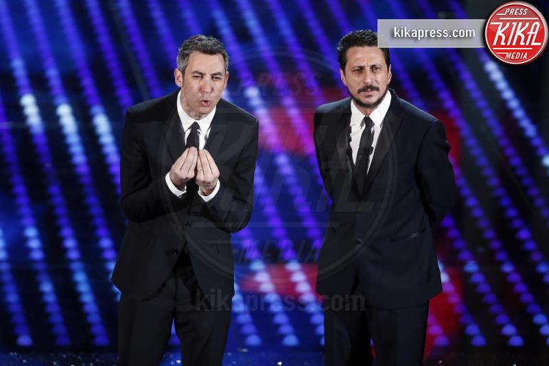 Paolo Kessisoglu, Luca Bizzarri - Sanremo - 10-02-2017 -  Sanremo 2017: show di Mika nella serata delle Cover