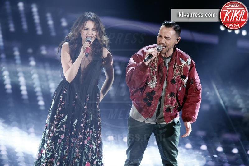 Raige, Giulia Luzi - Sanremo - 10-02-2017 -  Sanremo 2017: show di Mika nella serata delle Cover