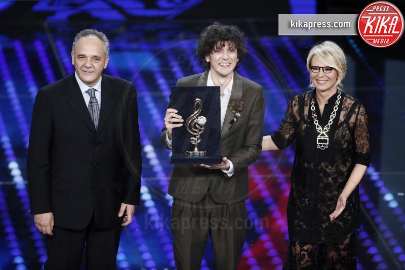 Leandro Faraldi, Ermal Meta, Maria De Filippi - Sanremo - 10-02-2017 -  Sanremo 2017: show di Mika nella serata delle Cover