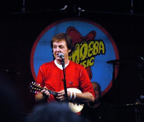 Paul McCartney - Londra - 27-06-2007 - Paul McCartney ha ricevuto una laura honoris causae a Yale
