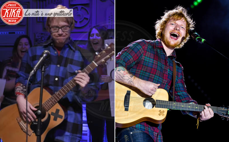 Ed Sheeran, Rupert Grint - 27-03-2017 - Maeve o Harley Quinn? Quando le star sembrano clonate