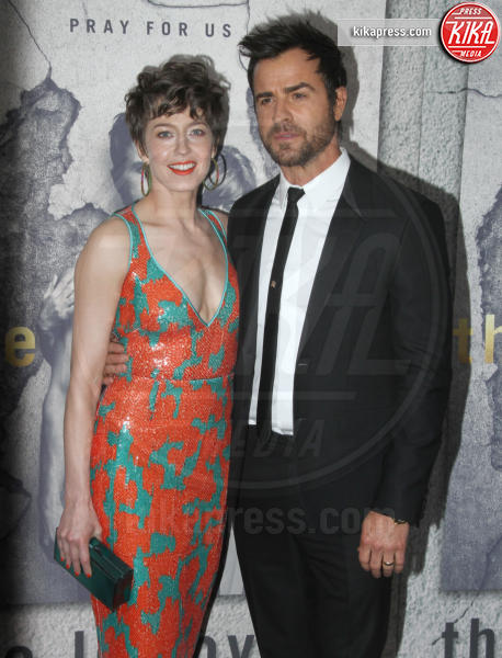 Carrie Coon, Justin Theroux - Los Angeles - 04-04-2017 - Emmy Awards 2017: tutte le nomination