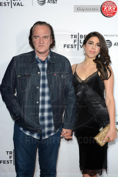 Courtney Hoffman, Quentin Tarantino - New York - 29-04-2017 - Quentin Tarantino, nuovo film sulla Famiglia Manson