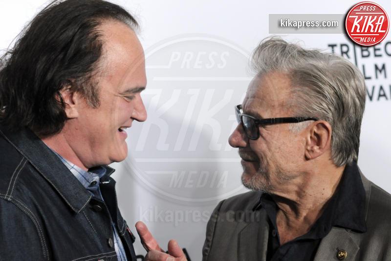 Harvey Keitel, Quentin Tarantino - New York - 29-04-2017 - Quentin Tarantino, nuovo film sulla Famiglia Manson