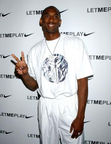 Kobe Bryant - Hollywood - 11-07-2007 - Kobe Bryant miglior atleta dell'anno agli Oscar degli afroamericani