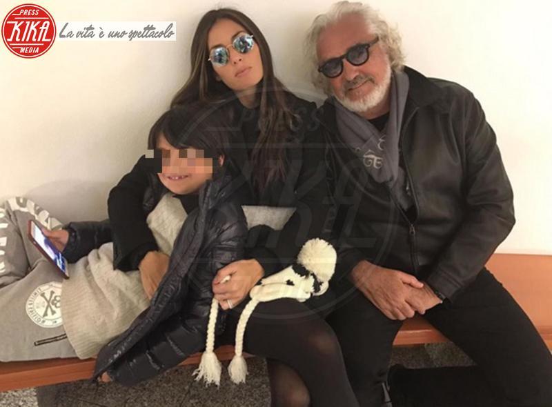 Nathan Falco Briatore, Elisabetta Gregoraci, Flavio Briatore - 06-04-2017 - Elisabetta Gregoraci: la famiglia non approva il nuovo amore