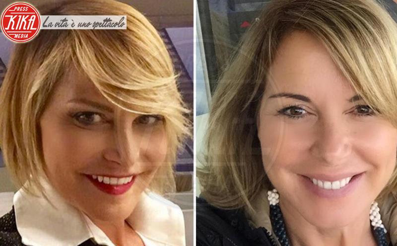 Monica Leofreddi, Simona Ventura - Milano - 11-07-2017 - Maeve o Harley Quinn? Quando le star sembrano clonate
