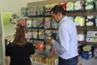Ecobaby Store Cordenons, Davide Coral - Pordenone - 08-09-2017 - Azzurra, incinta di tre mesi, assunta in un negozio per bambini