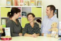 Ecobaby Store Cordenons, Sara Mandalà, Azzurra Miotto - Pordenone - 08-09-2017 - Azzurra, incinta di tre mesi, assunta in un negozio per bambini