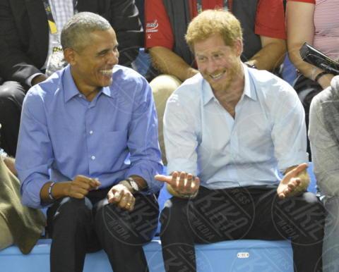Principe Harry, Barack Obama - Toronto - 29-09-2017 - Non solo Amadeus e Fiorello, quanto aiuta l'amicizia!