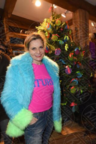 Simona Ventura - Cortina - 09-12-2017 - Festa Alberta Ferretti, sulla neve c'è... Gianluca Vacchi!