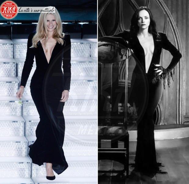 Michelle Hunziker, Christina Ricci - 07-02-2018 - Sanremo contro Hollywood: chi lo indossa meglio?