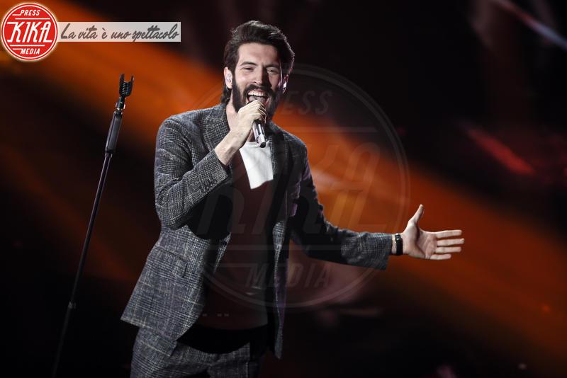 Giovanni Caccamo - Sanremo - 08-02-2018 - Sanremo 2018: l'ironia dei conduttori sul caso plagio