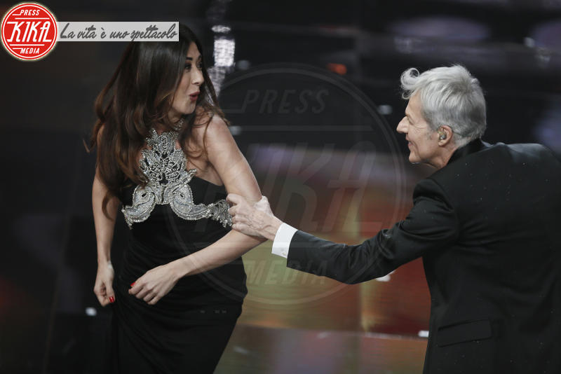Virginia Raffaele, Claudio Baglioni - Sanremo - 08-02-2018 - Sanremo 2018: l'ironia dei conduttori sul caso plagio