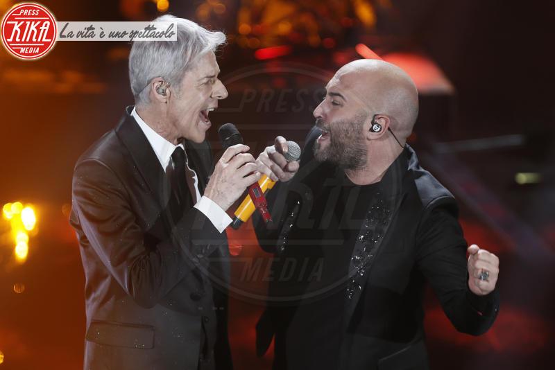 Negramaro, Giuliano Sangiorgi, Claudio Baglioni - Sanremo - 08-02-2018 - Sanremo 2018: l'ironia dei conduttori sul caso plagio