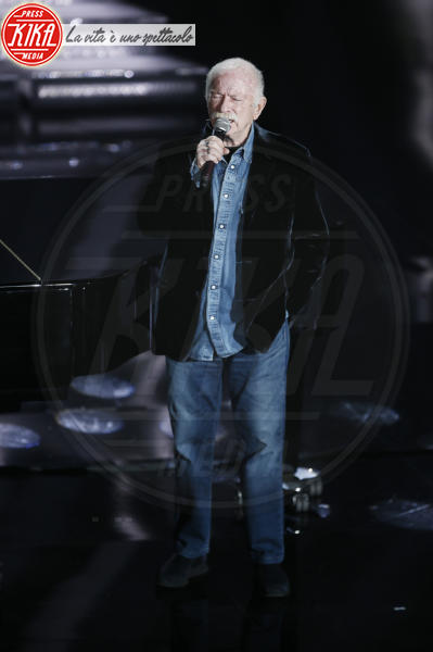 Gino Paoli - Sanremo - 09-02-2018 - Sanremo 2018: l'ironia dei conduttori sul caso plagio