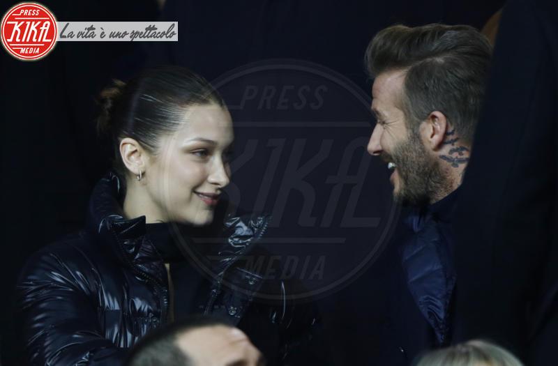 Bella Hadid, David Beckham - Parigi - 06-03-2018 - Bella Hadid manda nel 'pallone' David Beckham