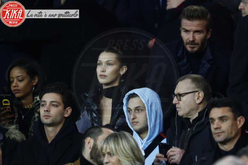 Anwar Hadid, Bella Hadid, Robin Wright, David Beckham - Parigi - 06-03-2018 - Bella Hadid manda nel 'pallone' David Beckham