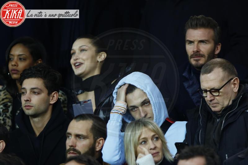 Anwar Hadid, Bella Hadid, Robin Wright, David Beckham - 06-03-2018 - Bella Hadid manda nel 'pallone' David Beckham