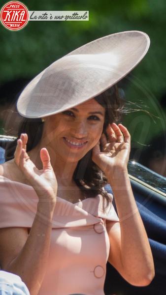 Meghan Markle, Trooping The Colour, Principe Harry - Londra - 09-06-2018 - Il cappello preferito di Meghan Markle ha un prezzo accessibile