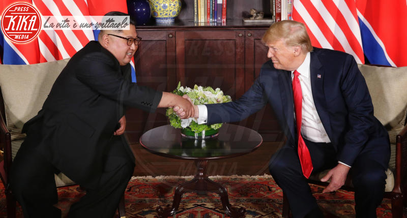 Kim Jong-un, Donald Trump - Singapore - 11-06-2018 - Alec Baldwin sicuro:
