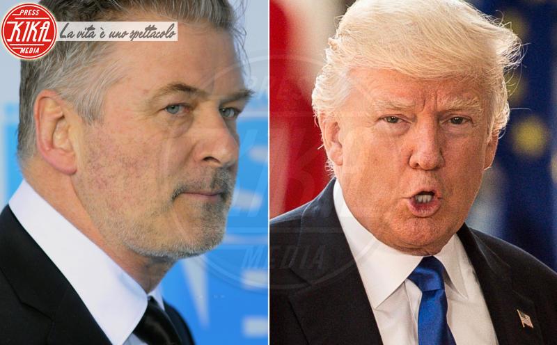 Donald Trump, Alec Baldwin - Los Angeles - 13-06-2018 - Alec Baldwin sicuro: